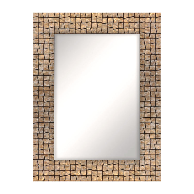 Bunaken Rectangular Seashell Mirror