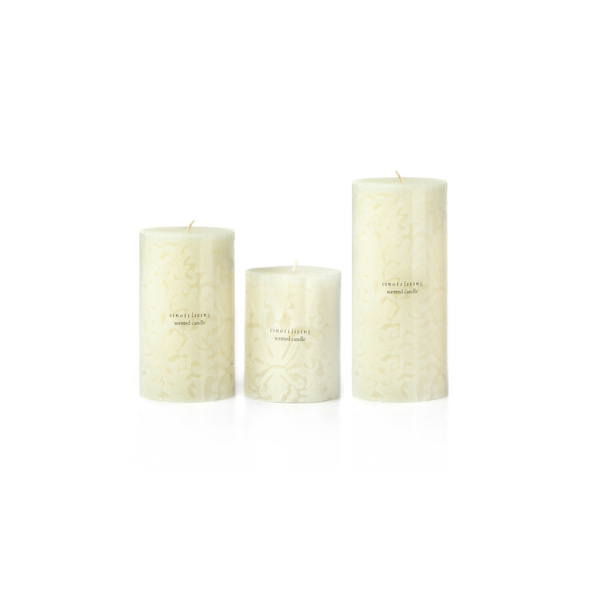 Floral Candle - Vinoti Living