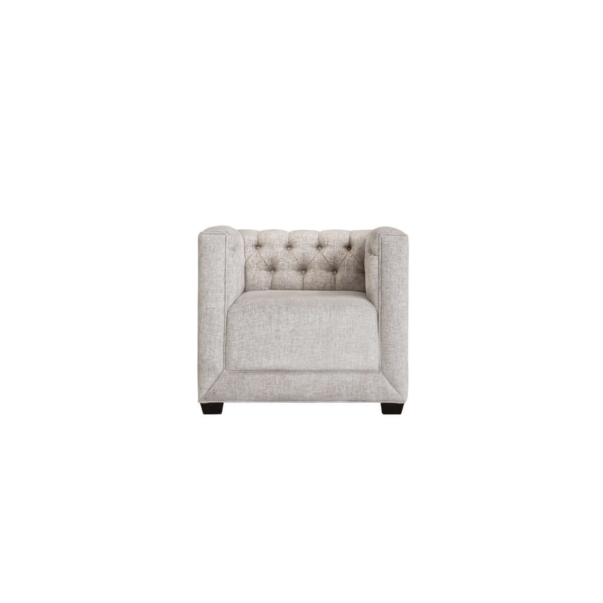Hampton 1 seat tufted, classic and stylish sofa