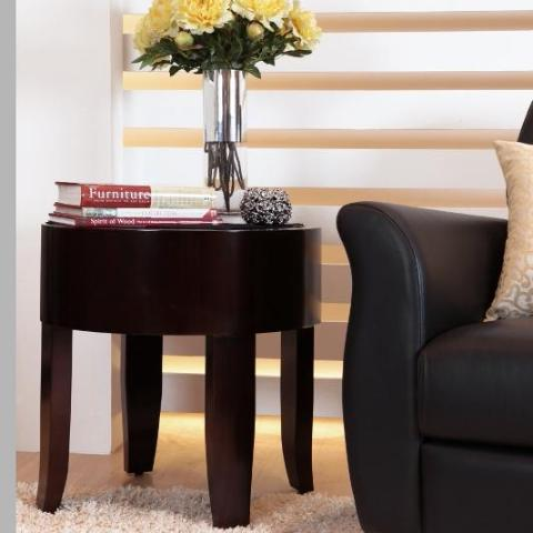 Timeless and Elegant Boston Round Side Table