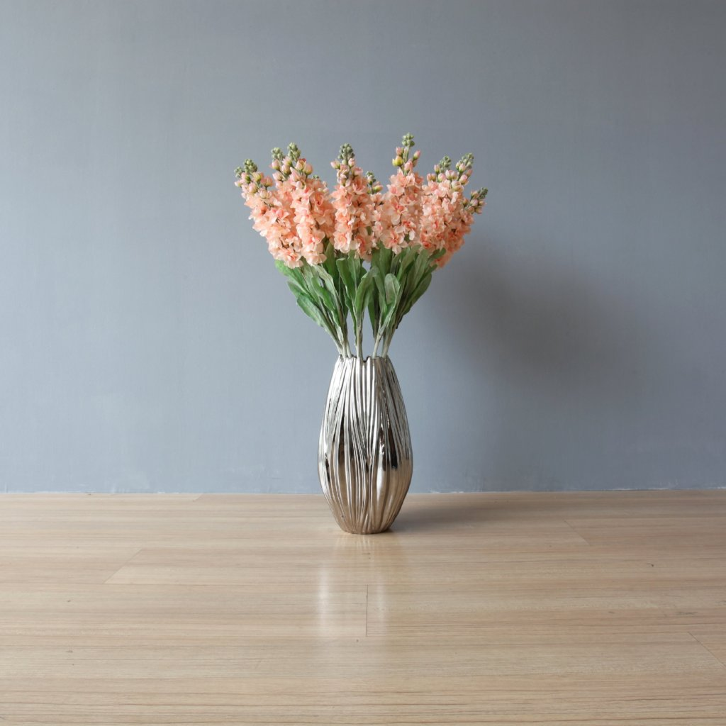 Delphinium Short – Peach (set of 12)