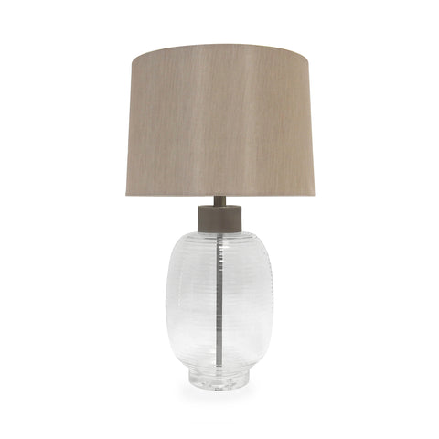 Serenity Glass Table Lamp