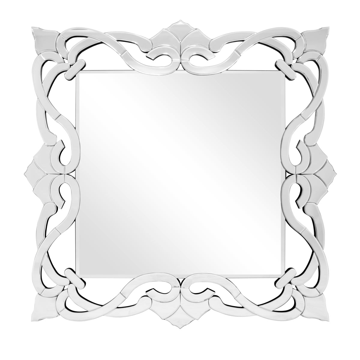 Jardin Square Vines Mirror