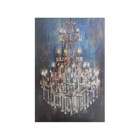 Laura Chandelier on Canvas