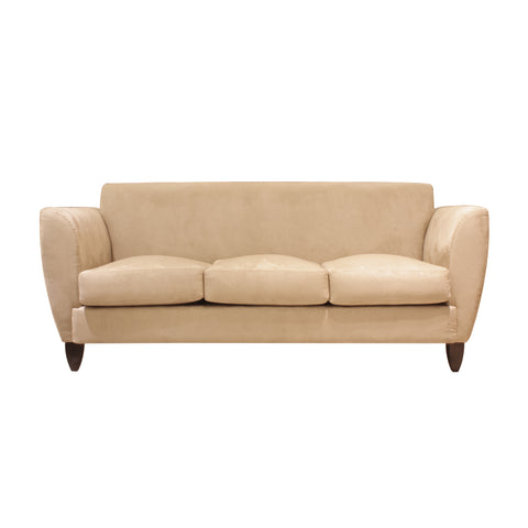 three seat sofa wood leg furniture kursi