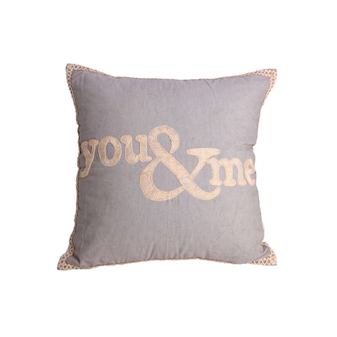 Mishka You & Me Cushion Cover (without insert)