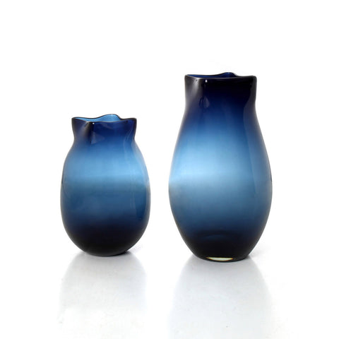 Mumbai Tulip Vase - Royal Blue