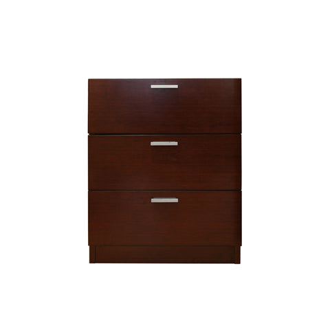 Manhattan Mobile Pedestal - 3 drawers