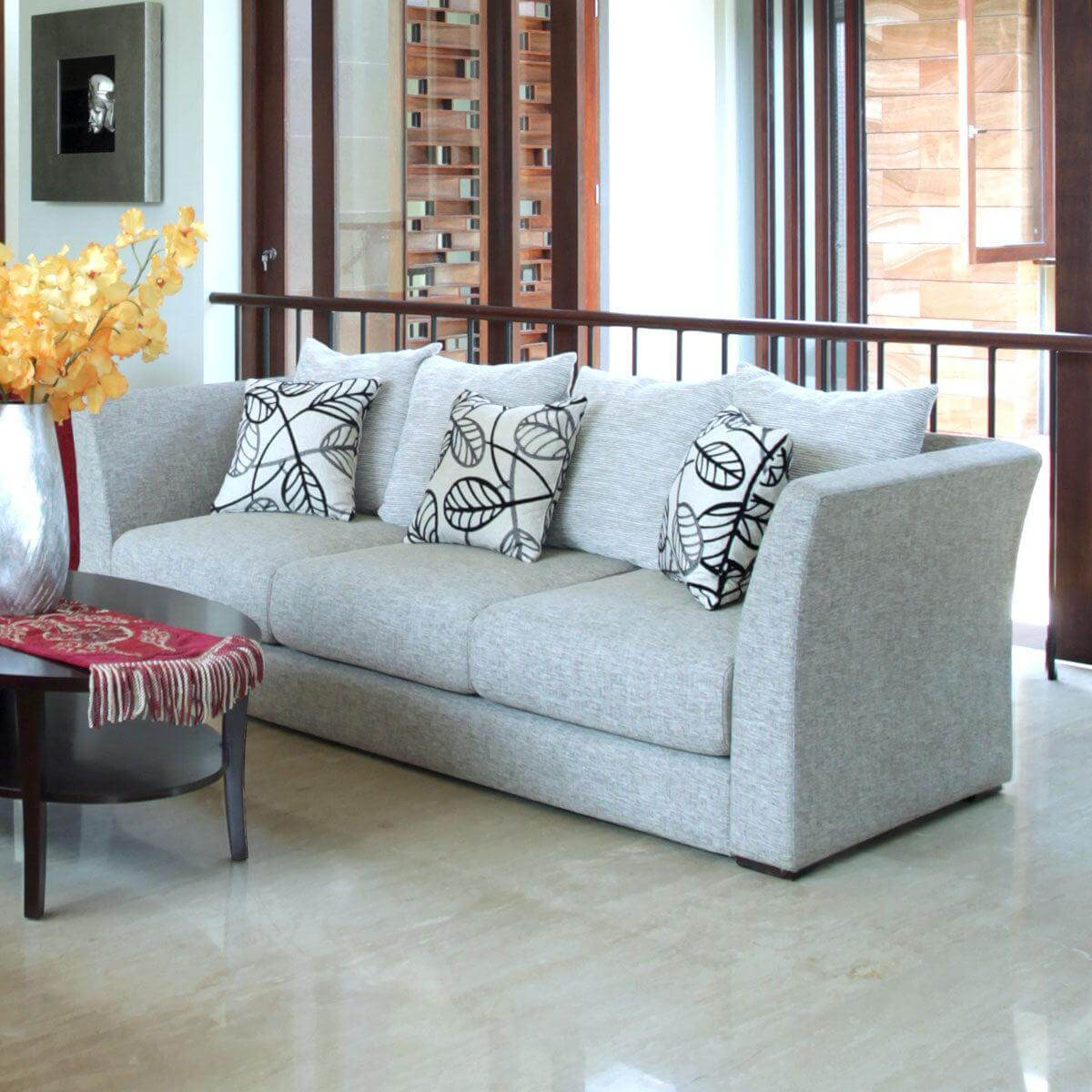 nara 3 seat elegant and simple sofa