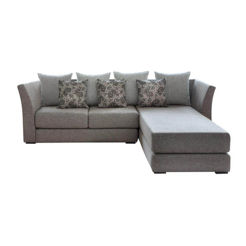 nara l-shape two seat elegant and simple sofa