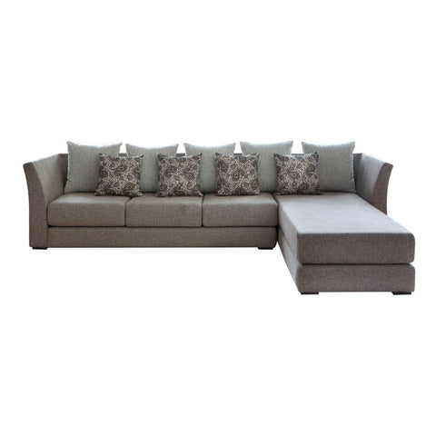 nara l-shape three seat elegant and simple sofa