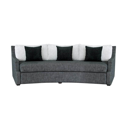 3 seat curved sofa