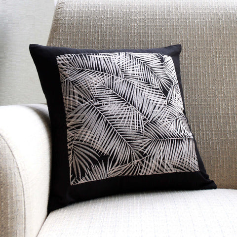 Oasis Palm Cushion Cover