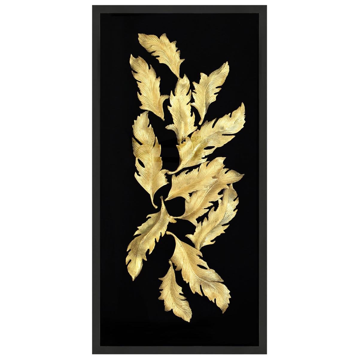 Ore Gold Feathers