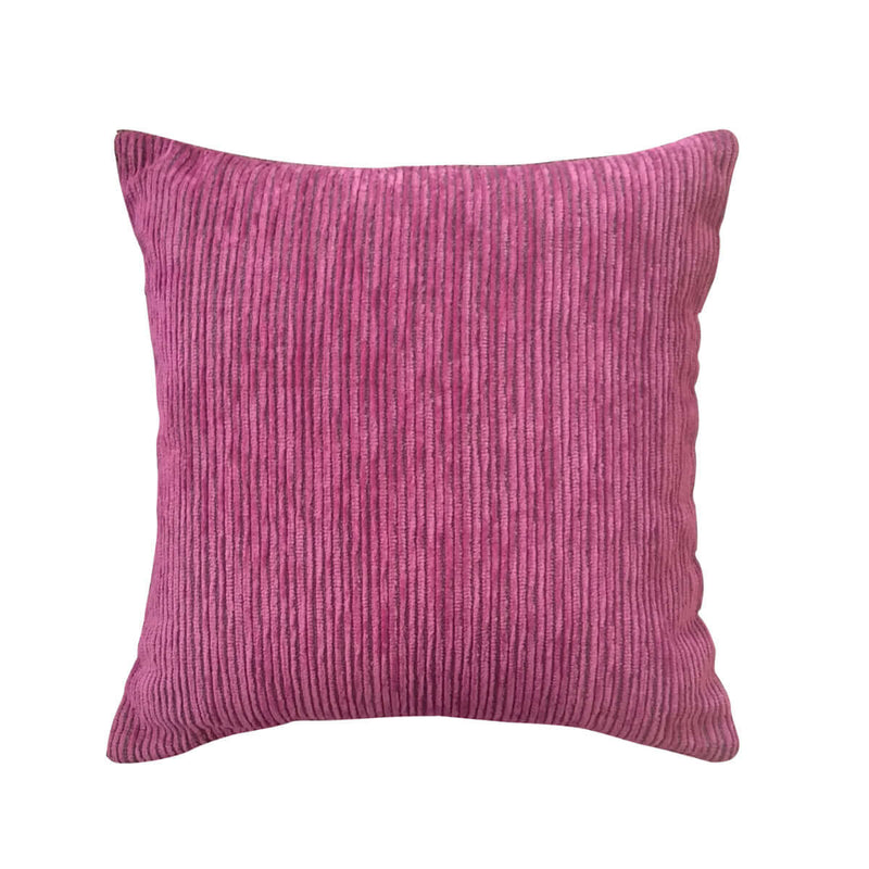 Pink Line Cushion Cover
