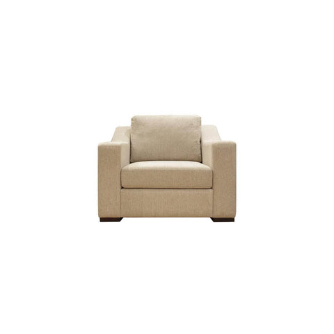 Presidio one seat sofa with prestigious accent arm