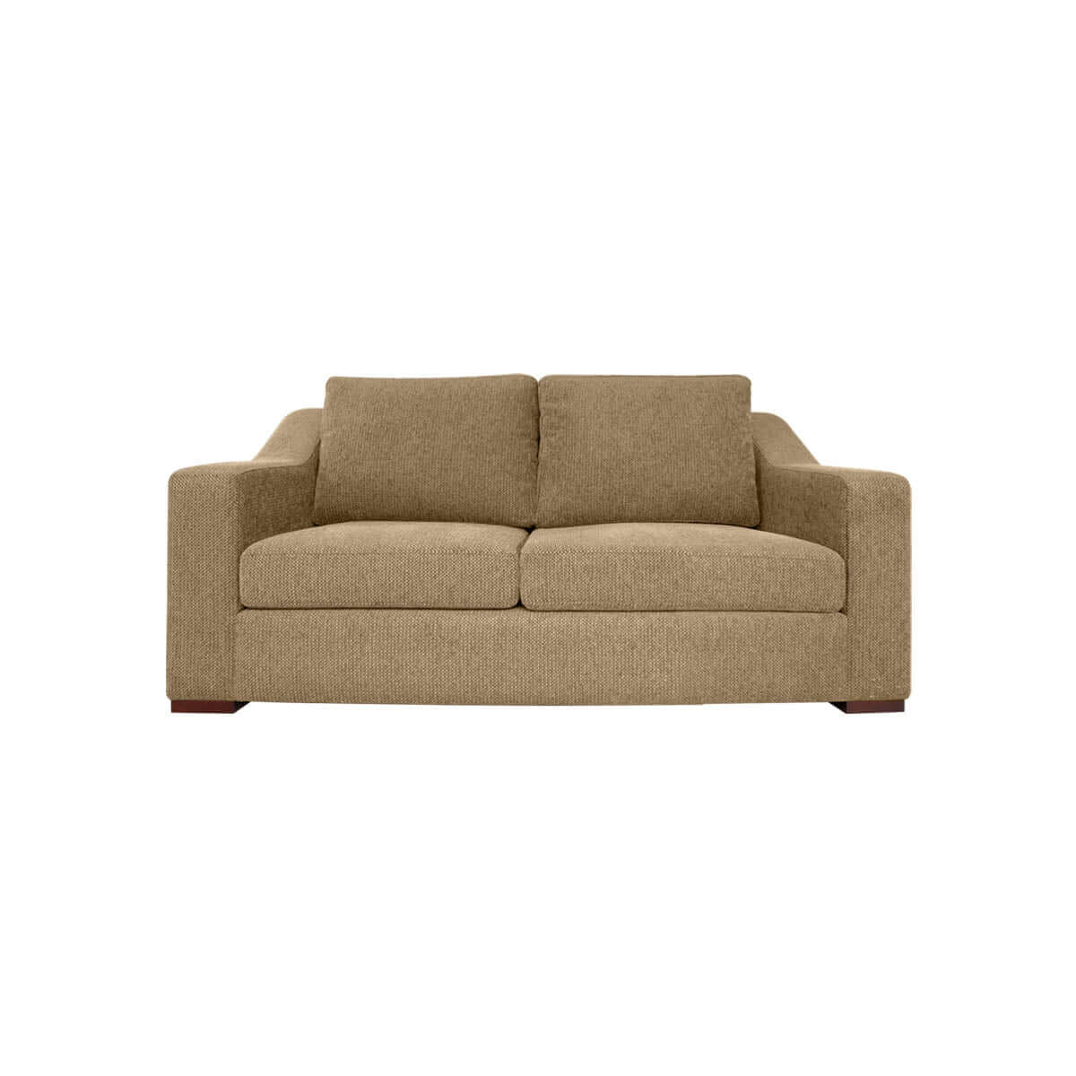 Presidio two seat sofa with prestigious accent arm