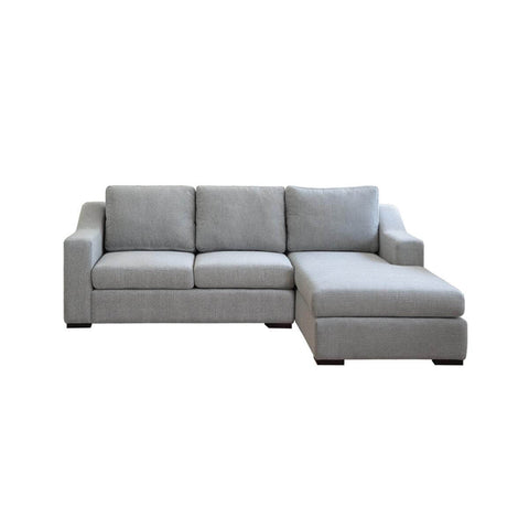 Presidio l shape two seat sofa with prestigious accent arm