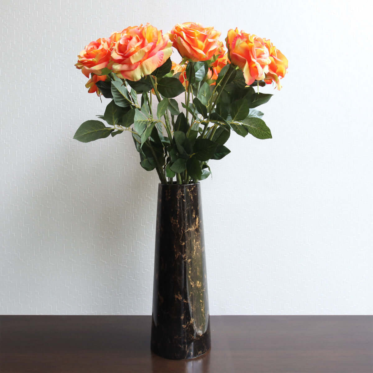 Rose Orange (L) - 85 CM