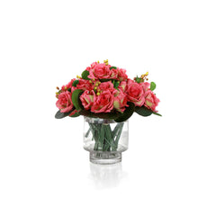 Rose Bouquet - Pink (set of 4 bunch)