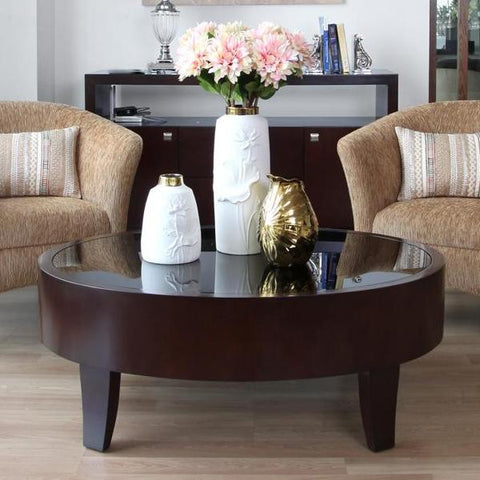 Boston Oval Coffee Table - Vinoti Living