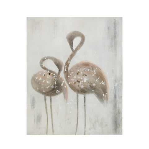 Serene Duo Flamingos