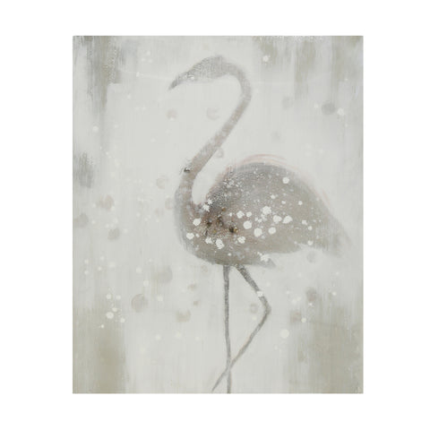 Serene Single Flamingo
