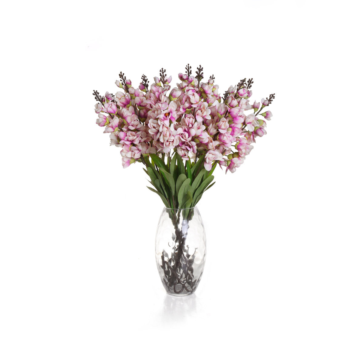 Single Antelope Orchid - Purple Bunch (Set of 12)