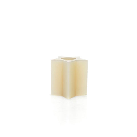 Star Pillar Candle Natural 11 cm