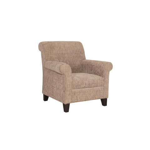 timeless wing chair wooden legs