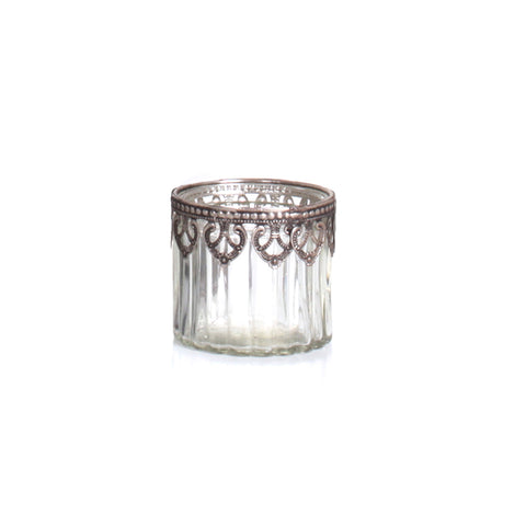 Agra Stripes Candle Holder Small