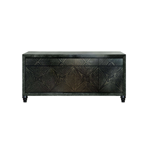 gold grained sideboard