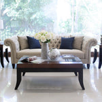 Savoy three seat sofa, unique and bold flair sofa furniture di indonesia
