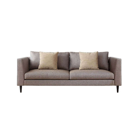 Slimline 3-seat sofa, simple and chic sofa