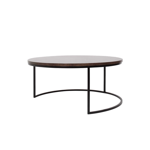 Slimline Round Coffee Table Large