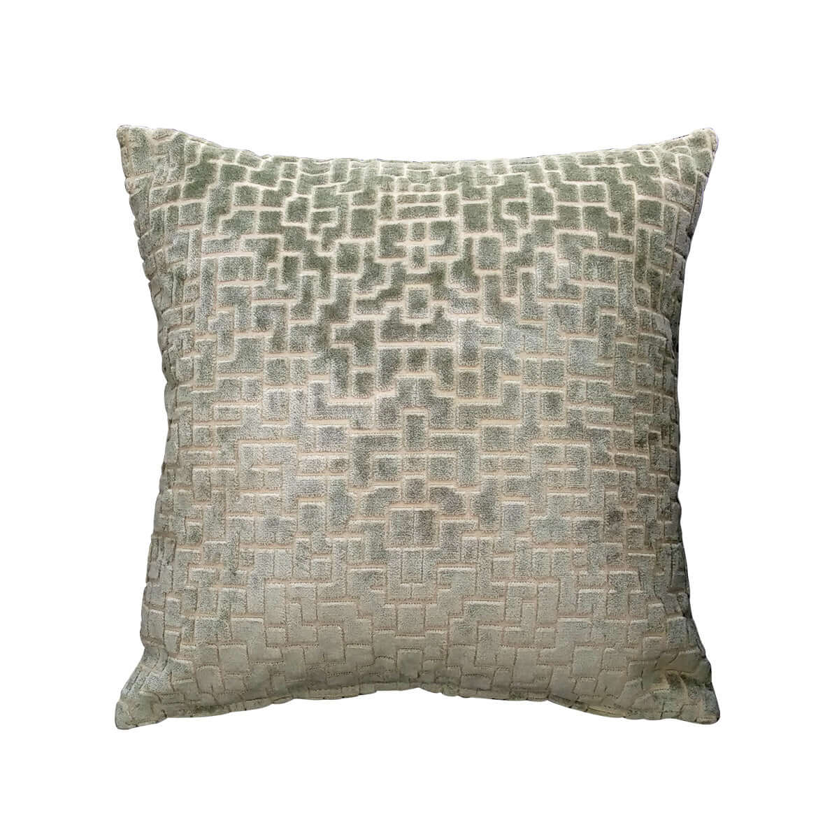 Tara Verde Cushion Cover - Vinoti Living