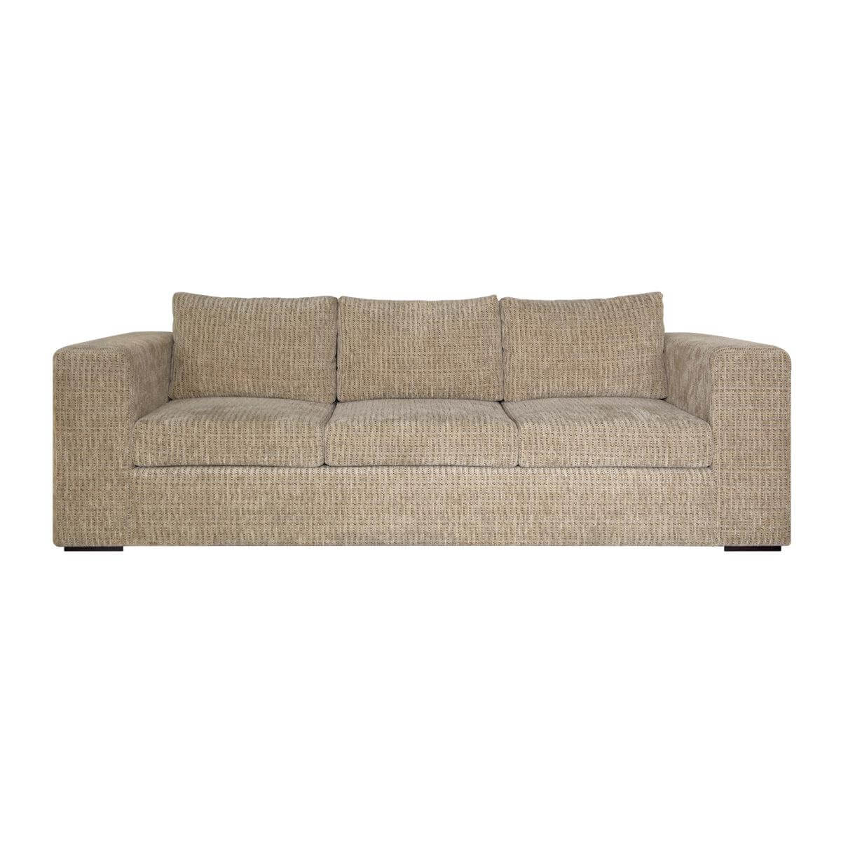 Tribeca 3-Seat Sofa - handsome and tasteful