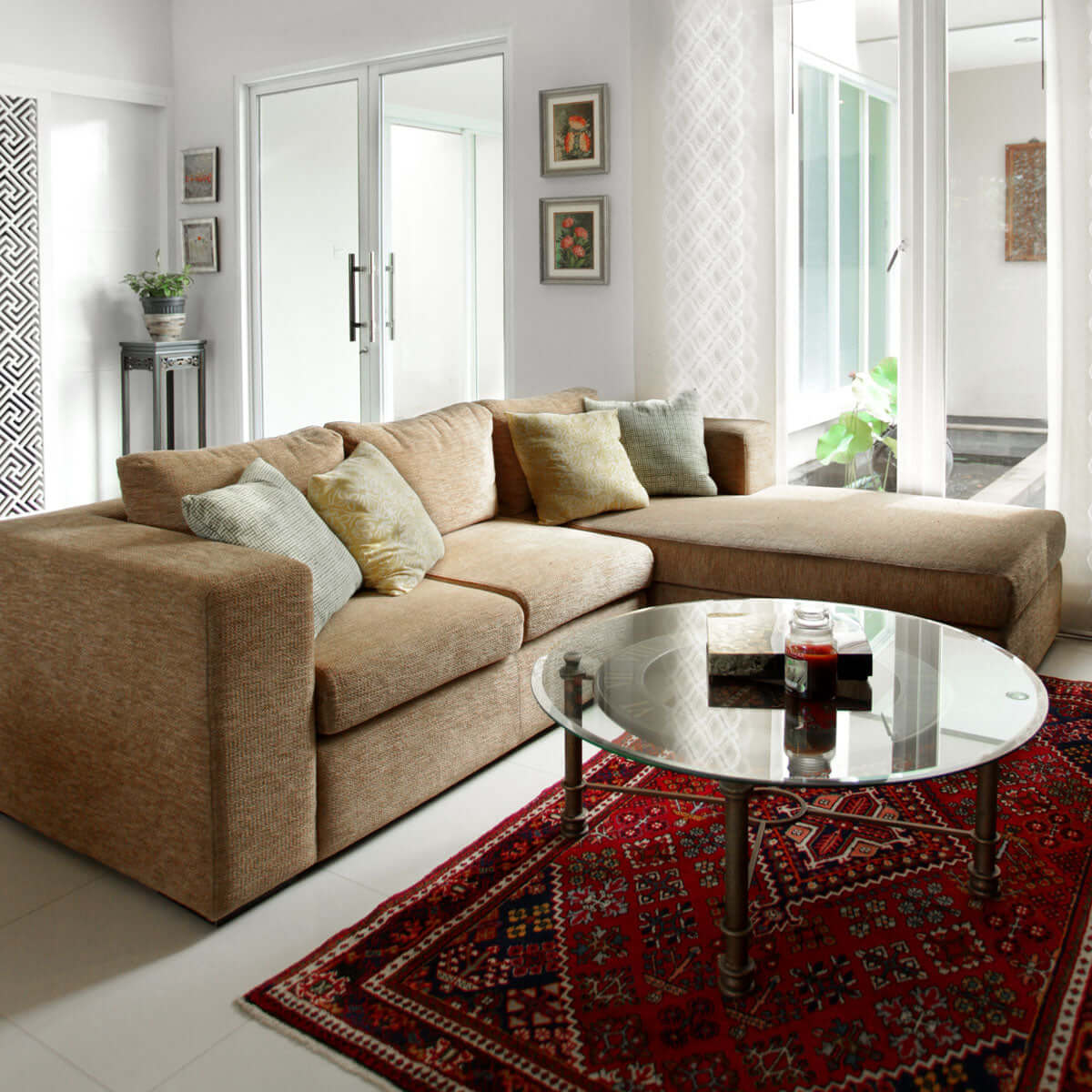 Tribeca L-shape 2-seat sofa - Vinoti Living