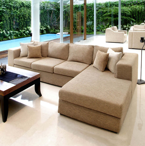 Tribeca L-shape 3-seat sofa