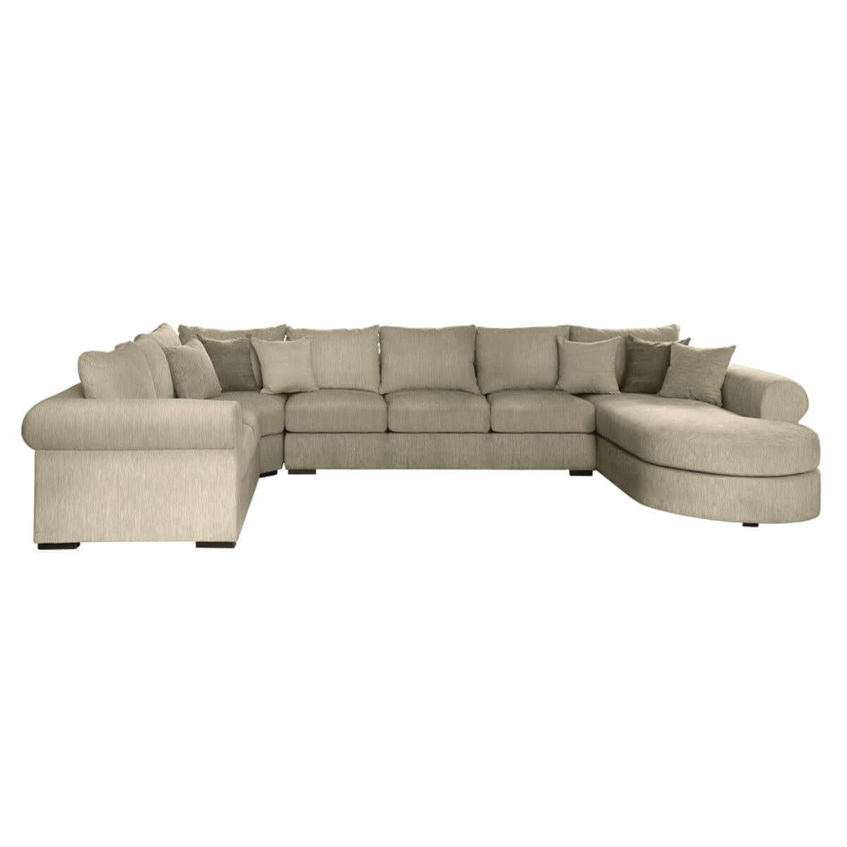Tuscany Sectional Sofa - classic look paired with modern