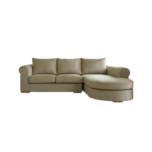 Tuscany L-Shape 2-Seat Sofa - classic look paired with modern
