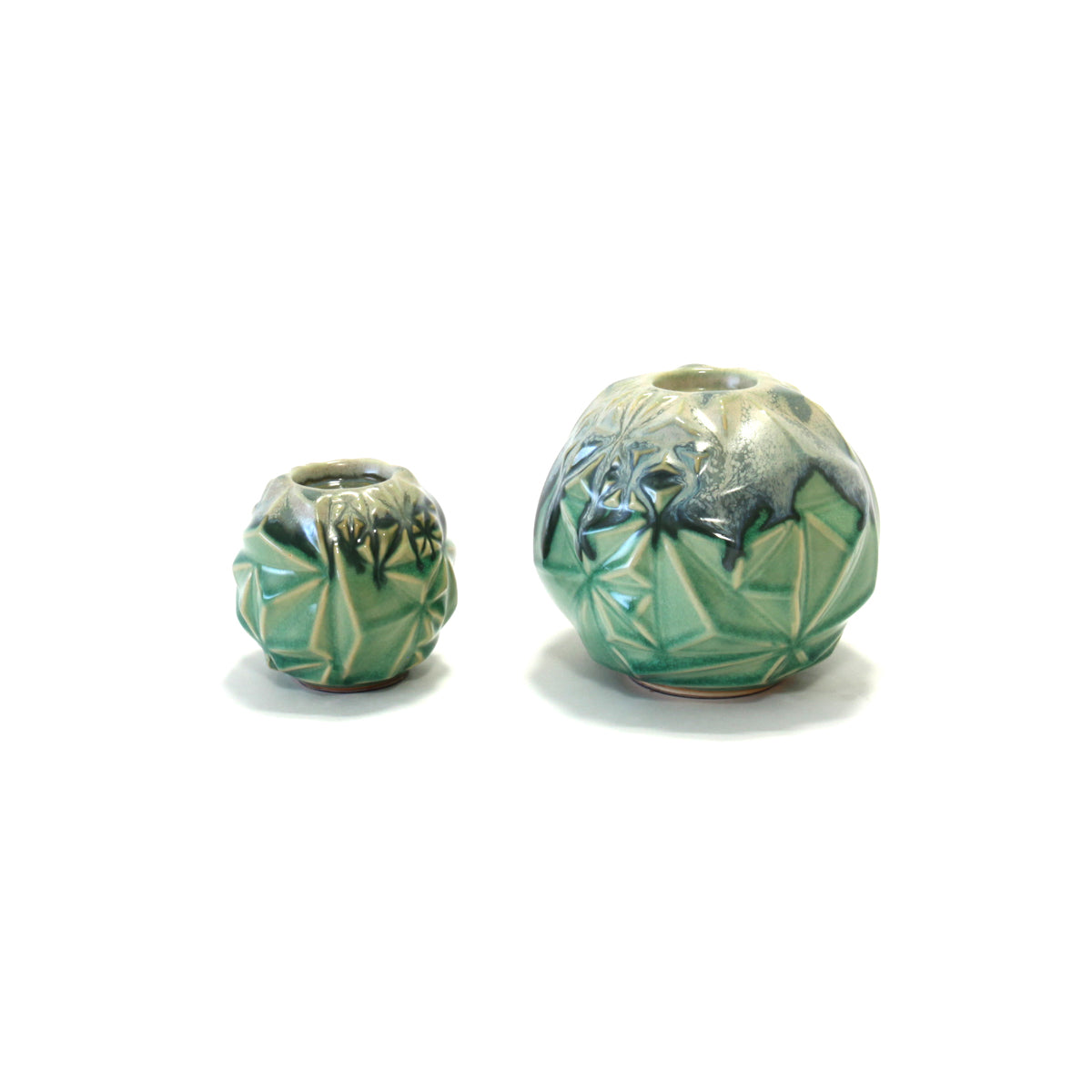 Verde Grass Candle Holder