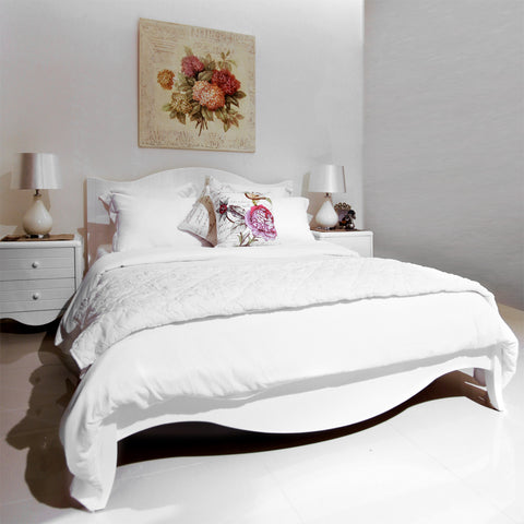 furniture jakarta furniture bali white bed frame dekoruma bedroom