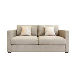 A simple and stylish three seat sofa