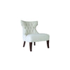 furniture bali tufted chair wooden legs side view makassar palembang