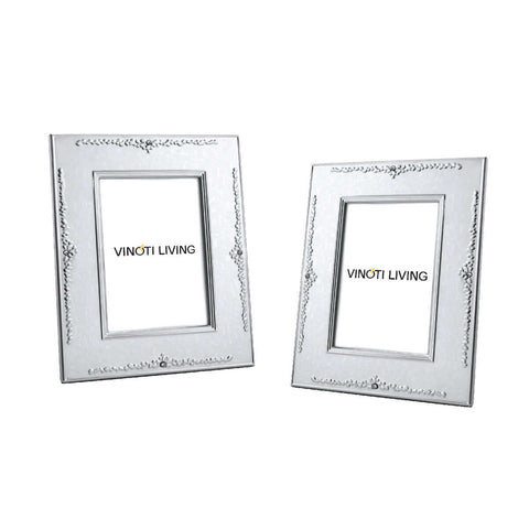 Costa Crown Photo Frame - Silver