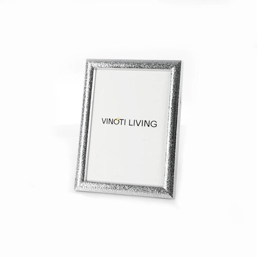 photo frame - Aliya Brushed Photo Frame - Silver - vinoti living - decor dan accessories di indonesia