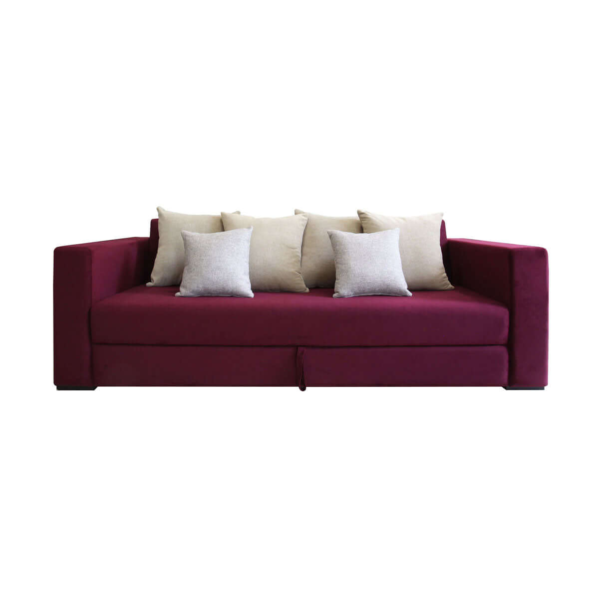 La Vida Storage 3-Seat Sofa in Simply Purple
