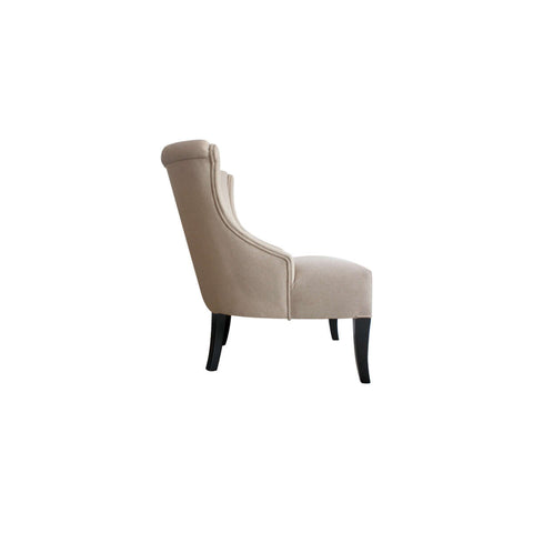 furniture bali sofa chair lounge chair tufted design dekoruma side view