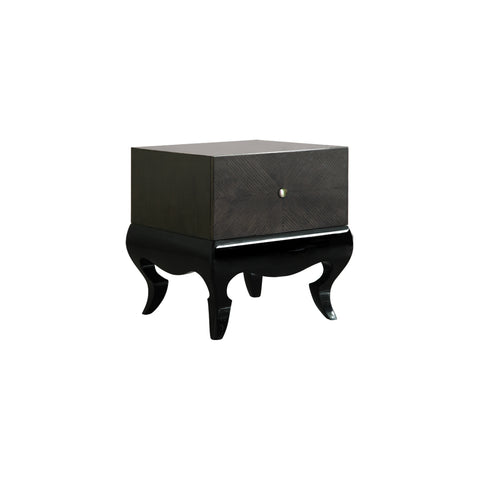 bold yet unique tokara bedside table